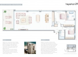 Mini Penthouse with balcony on 14 floor